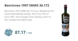 benrinnes 1997 smws 36 172 ratings