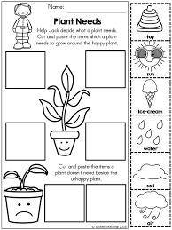 Plant Activities For Kindergarten Worksheets for all | Download ...