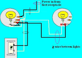 how do you wire two lights with a single pole switch wiring Two Lights Two Switches Diagram how do you wire two lights with a single pole switch 1 two switches two lights wiring diagram
