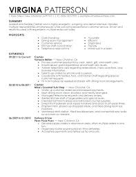 Cashier Resume Examples Best Of Resume Sample For Restaurant Sample Resume For Restaurant Waitress