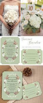 Top 8 Garden Themed Wedding Invitation Cards At
