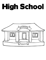 Small Picture Awesome School House High School Coloring Page Coloring Sky