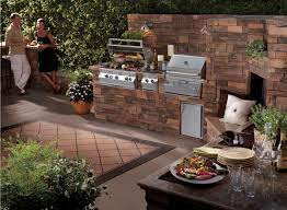 Outdoor Barbecue Kitchen Designs Outdoor Charcoal Kitchen Designs Quicuacom