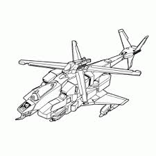 Helicopters Kleurplaten