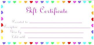 Gift Certificate Printable Free Free Printable Gift Voucher Photo A Free Printable Gift