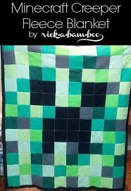 Minecraft Throw Blanket