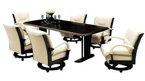 great rolling dining chair rolling dining room chairs table with caster swivel modern rolling dining chairs