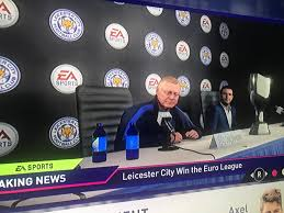 Leicester City after winning the Europa league : FifaCareers