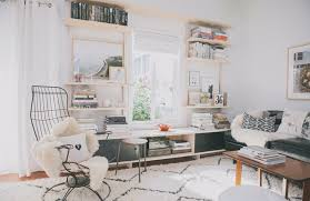 white room with black furniture. Bohemian Modern Style Living Room Decoratin Ideas With Black Leather Sofa 2 White Furniture