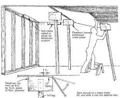 how to hang sheet rock solo drywall hanging fine homebuilding