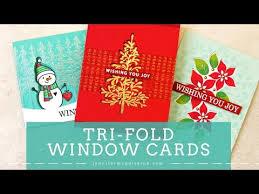 Tri Fold Window Tri Fold Window Card Designs