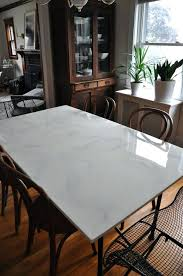 white marble table top. Fine Table Faux Marble Top Dining Table Set Kitchen Square  White For White Marble Table Top