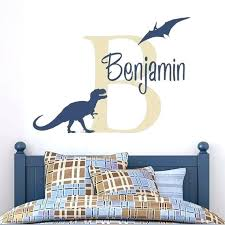 wall decals for boy boy bedroom wall decals boys name decal personalized dinosaur wall decal tyrannosaurus wall decals