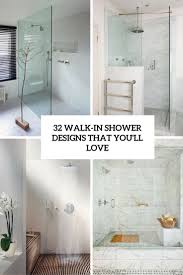 walk in shower designs that you'll love cover