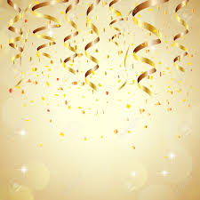 New Year Backgrounds Happy New Year Background With Golden Confetti Royalty Free Cliparts