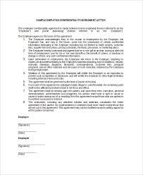 Employee Confidentiality Agreement 15+ Employee Confidentiality Agreement Templates – Free Sample ...