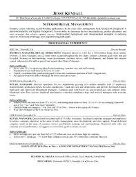 Sample Retail Resumes Examples Retail Resumes Examples Of Resumes ...