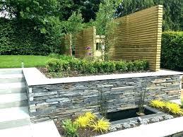 garden wall design ideas uk for walls stunning idea front small best fro