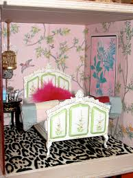 Leopard Wallpaper For Bedrooms Chinoiserie Chic Im A Giant Challenge The Pink Chinoiserie Bedroom