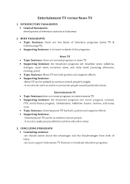 Example Of A College Essay Outline Examples Of An Essay Outline