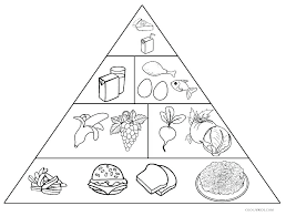 Healthy Eating Coloring Pages Pdf Page Food Colouring Print Foods