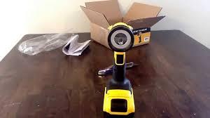 dewalt flashlight 18v. unboxing and first impressions ||| dewalt 20v max led flashlight 18v