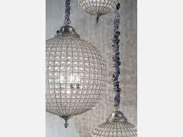 ball chandelier round crystal