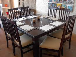 dining room table 8 chairs regarding square for inspiring with image of decor 17 square dining room table decor t42 table
