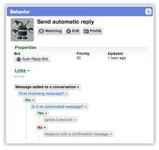 Automatic Respond Send Automatic Replies From Bots Cerb