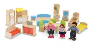 dolls furniture set. Hi-Rise Wooden Dollhouse And Furniture Set Dolls
