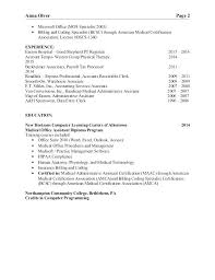 Associate Registrar Sample Resume Beauteous Resume Examples For Medical Office Specialist With Medical Office