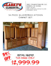 Silver Creek Kitchen Cabinets Clarkys Closeouts Privacy