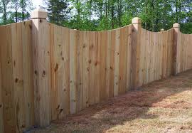 wood privacy fences. Wood Saddle Privacy Fence Fences N