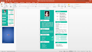 Powerpoint Resume Template Best Of Powerpoint Resume Template Powerpoint Resume Template Lbimaging