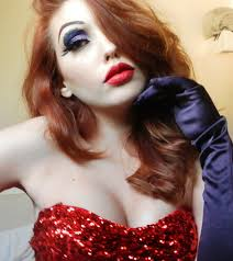 jessica rabbit makeup by me by marymakeup