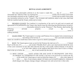 Month To Month Rental Agreement Template Basic Rental Lease Agreement Approveme Free Contract