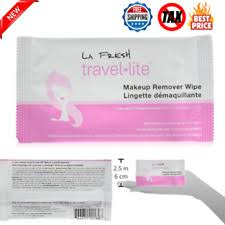 la fresh travel lite makeup remover wipes natural waterproof large size 50 count