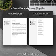 Professional Elegant Resume Template Best Selling Resume Cover