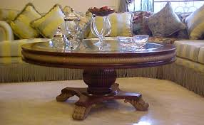 living room center table design round