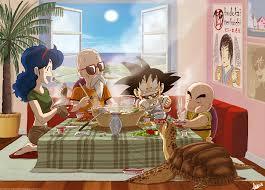 Goku Krillin Dragon Ball Master Roshi ...