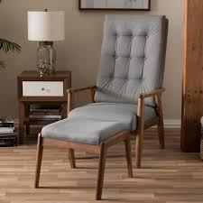 baxton studio iona mid century retro modern. Baxton Studio Roxy Mid-Century Modern Walnut Wood Finishing And Grey Fabric Upholstered Button- Iona Mid Century Retro I