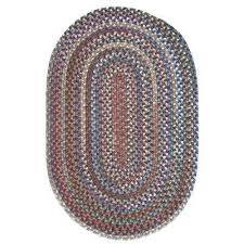 cage dusk 10 ft x 13 ft oval braided area rug