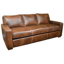 Carlsbad Sofa by Omnia Leather USA Made