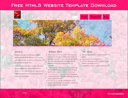 Microsoft Web Page Templates Free Html5 Website Template Download Entheos