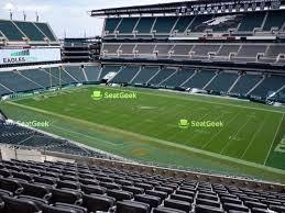 Philadelphia Eagles Seating Chart Map Seatgeek