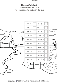 Division Worksheets - Divide Numbers by 1 to 5Division Worksheets - Divide Numbers by 1 to 5. Free printable math ...