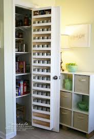 Back of pantry door. Almost too much extra storage space.