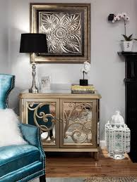 Old Hollywood Glamour Bedroom Glamorous Transitional Living Room Natasha Eustache Garner Hgtv