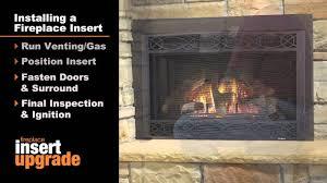 heatilator® gas fireplace insert installation video heatilator® gas fireplace insert installation video