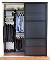 reach in closet sliding doors. Sleek Reach-In Closet Contemporary-closet Reach In Closet Sliding Doors .